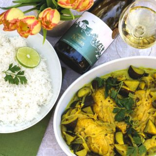 Chicken Colombo: A Blend of Caribbean Flavors from the French West Indies #Winophiles