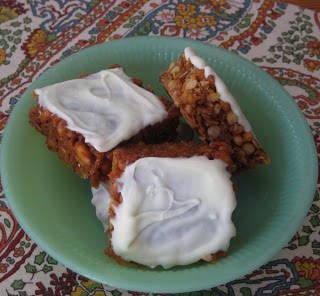 Oat & Pine Nut Bars with White Chocolate
