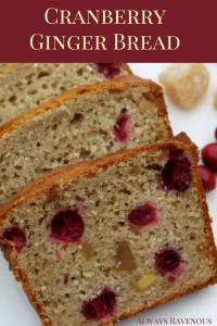 Cranberry Ginger Bread