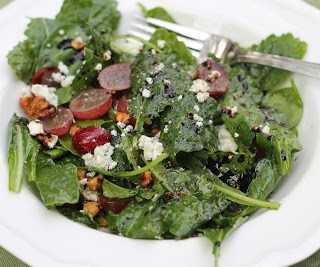 "Kale, Chard and Spinach ""Signature Salad"""