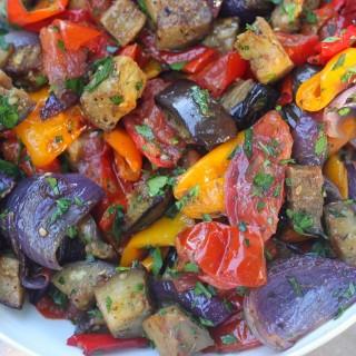 Late Summer Roasted Vegetables