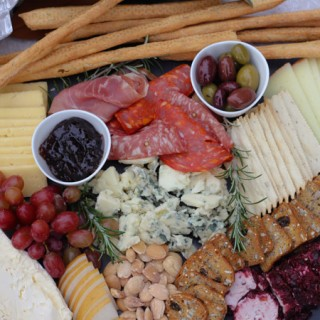 Trader Joes Holiday Cheese Platter