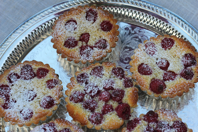 Raspberry Frangipane Tartlets-1