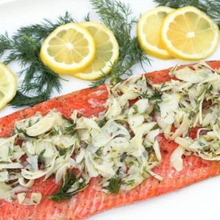 Slow Roasted Salmon