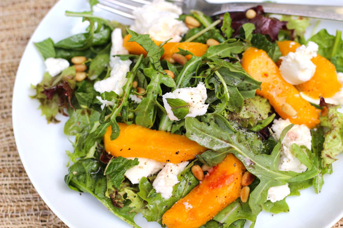 Peach Salad-32