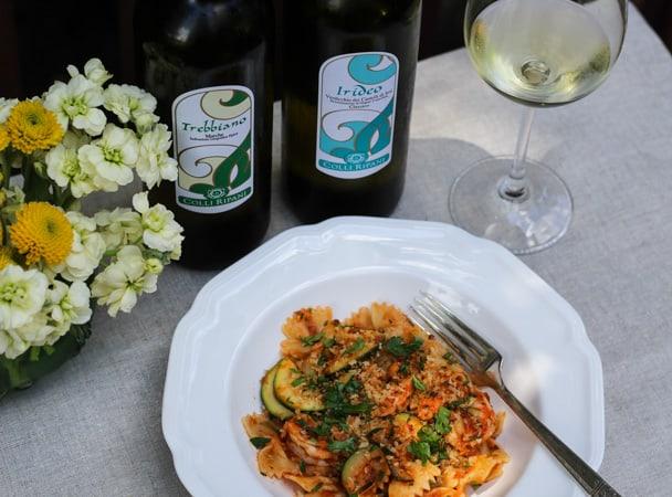Shrimp and Zucchini Pasta -3