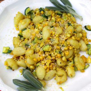 Gnocchi with Seasonal Vegetables