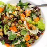 Spring Fennel Carrot Salad with Orange Sherry Vinaigrette