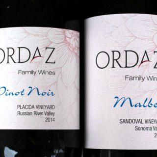 Wine Tasting – Ordaz Family Wines
