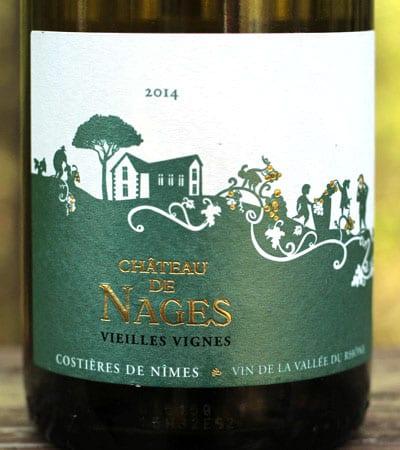 Château de Nages Vieilles Vignes, Costières de Nîmes, White Rhône