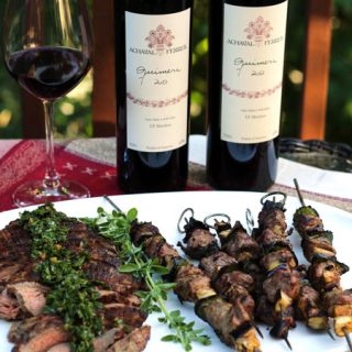 Achaval-Ferrer Wines Paired with Grill Favorites #winestudio