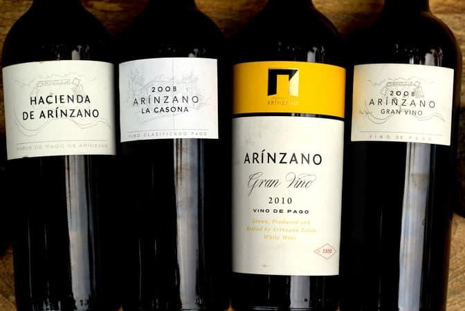 Arinzano Estate Wine Tasting