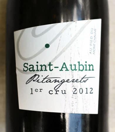 2012 Premier Cru Saint-Aubin Pitangeret