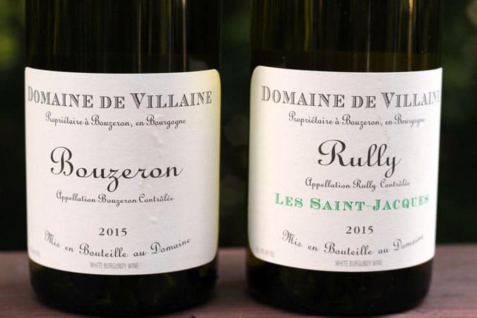 Côte Chalonnaise Domaine de Villaine Bouzeron & Rully Les Saint-Jacques