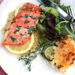 Copper River Salmon with Herb Butter