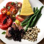 Duck Breast with Blueberry Mostarda