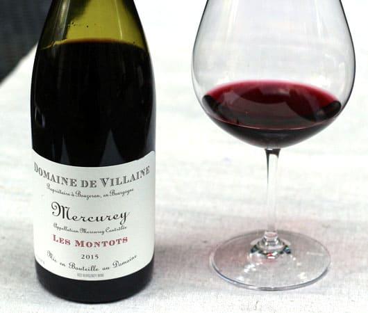 2015 Domaine de Villaine Mercurey Les Montots