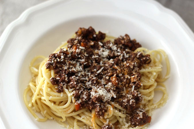 Classic Tuscan Ragù Paired with Chianti
