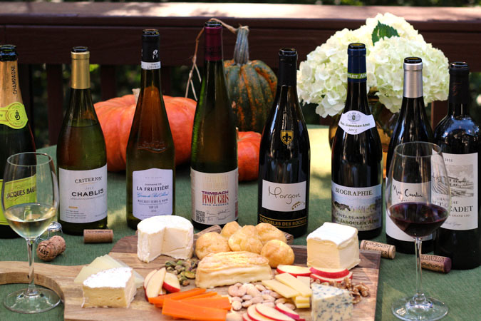 Savoring French Wine and Cheese #MadeinFrance