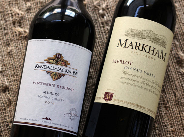 Sonoma and Napa Merlot #WinePW #MerlotMe