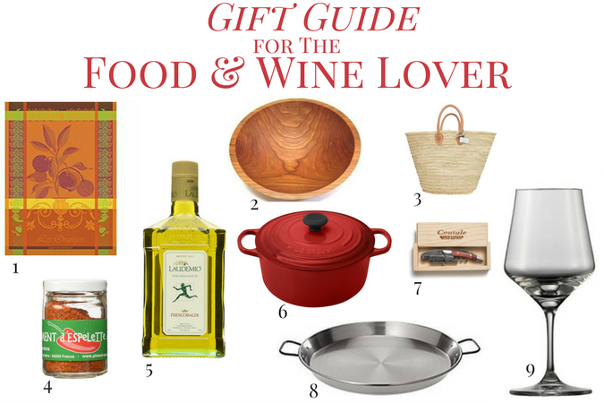 Gift Guide for the Food & Wine Lover