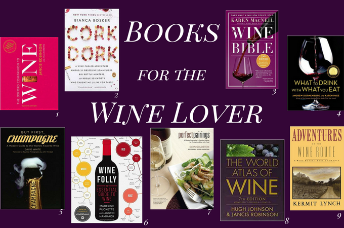 Books for the Wine Lover