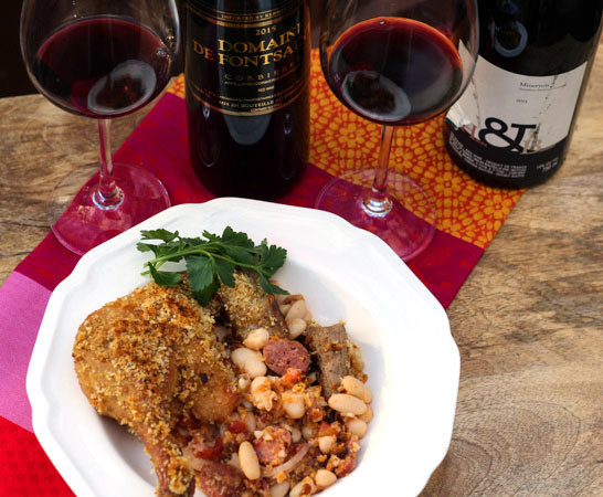 Hearty Red Wines of Corbières and Minervois Paired with Cassoulet
