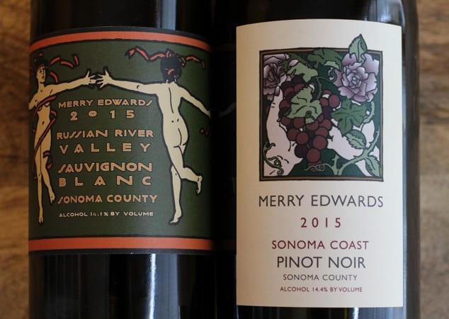 Merry Edwards Sauvignon Blanc and Pinot Noir