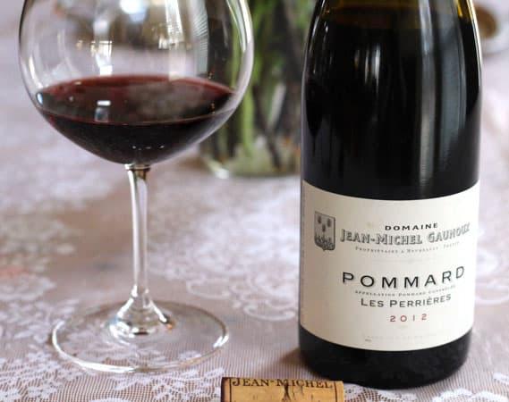 2012 Domaine Jean-Michel Gaunoux Pommard Les Perrières