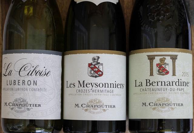 M. Chapoutier Rhône Valley Wines