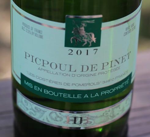 2017 Picpoul de Pinet H.B.