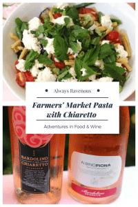 Farmers' Market Pasta with Chiaretto di Bardolino