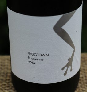 2015 Frogtown Roussanne