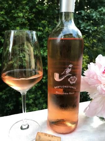2016 Babylonstoren Mourvedre Rosé-wine label