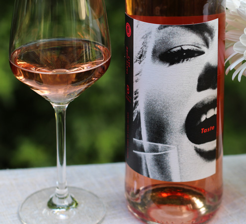 2017 Bedell Cellars Taste Rosé - wine label