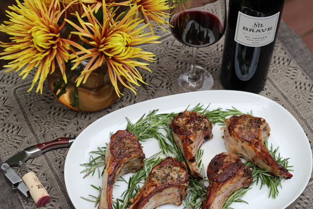 Lamb Chops with Rosemary and Garlic