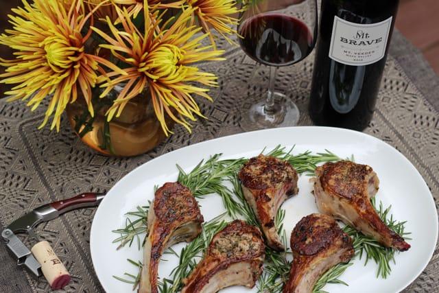 Lamb Chops with Rosemary and Garlic