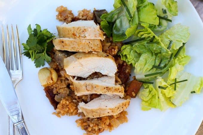 Moroccan-Spiced Chicken