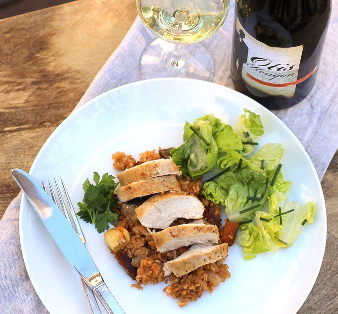 Pairing Washington Roussanne with Moroccan-Spiced Chicken
