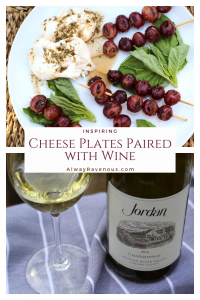 Inspiring Cheese Plates Paired with Wine