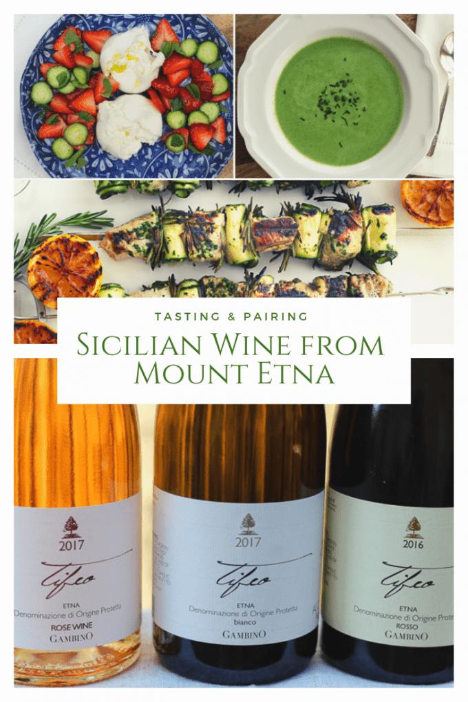 Tasting & Pairing Sicilian Wine from Mount Etna