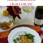 Chicken Korma with Gérard Bertrand Cigalus Blanc