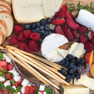 Summer-Inspired French Cheese and Wine Pairings #winophiles