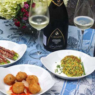 Prosecco Superiore paired with Italian Small Bites
