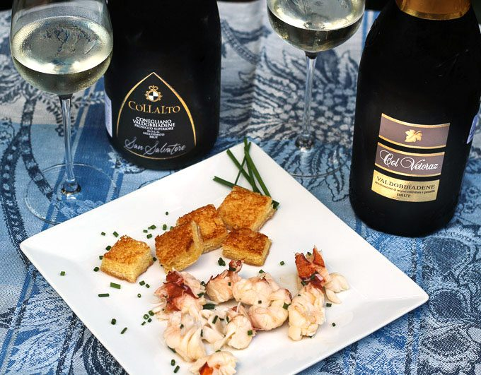 Prosecco Superiore with Italian Small Bites