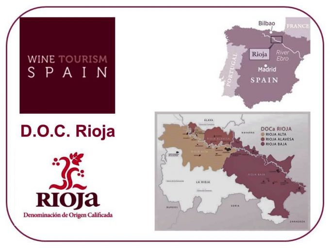 Spain's Rioja Wine Region Map