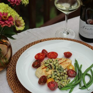 New Zealand Sauvignon Blanc Paired with Fresh Flavors of Late Summer #WinePW