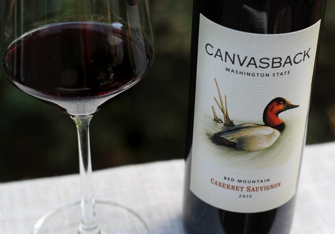 CanvasBack Red Mountain Cabernet Sauvignon