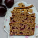 Spiced Tea Bread with Pluots