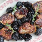 Pork Tenderloin with Prunes and Red Wine Sauce